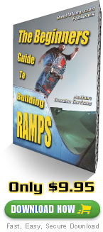 Skateboard Ramp Building Plans